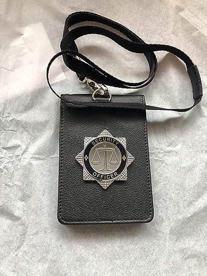 RAF Policía soporte de tarjeta de identificación y cordón ...