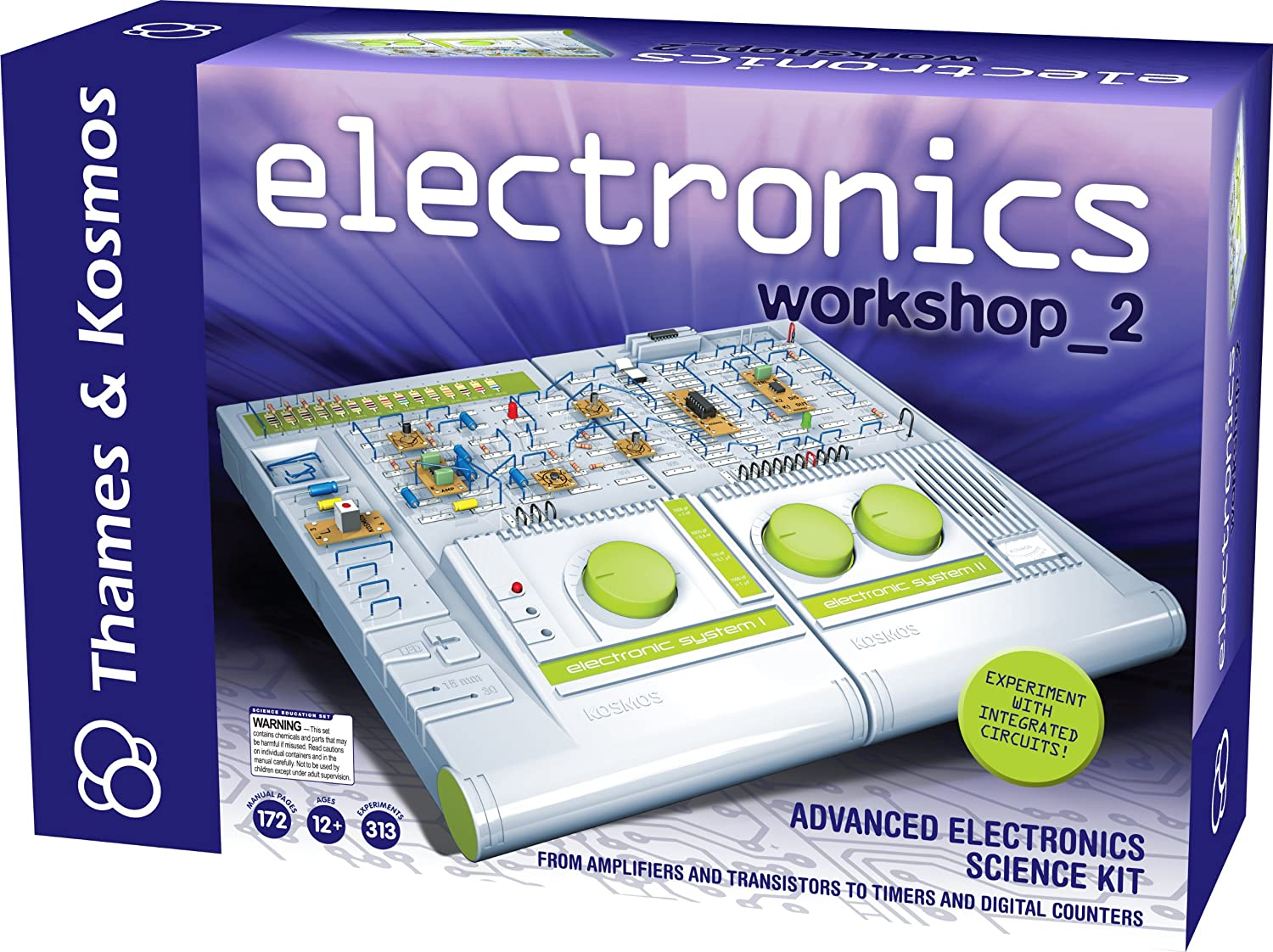 Thames Kosmos Technology And Electronics Elenco Snap Circuits Arcade Workshop 2 Toys Games