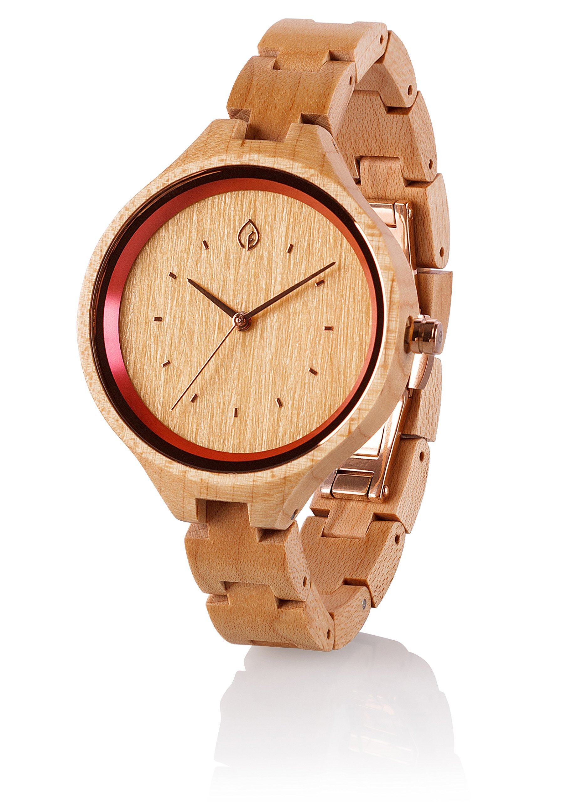 Women Wooden Watch Ladies Wood Watch For Women Women's Wrist Watch Female Wood Watch Girlfriend Gift Mothers Day Gift Wedding Gift Anniversary Gift For Bridal Shower Gift maple wom