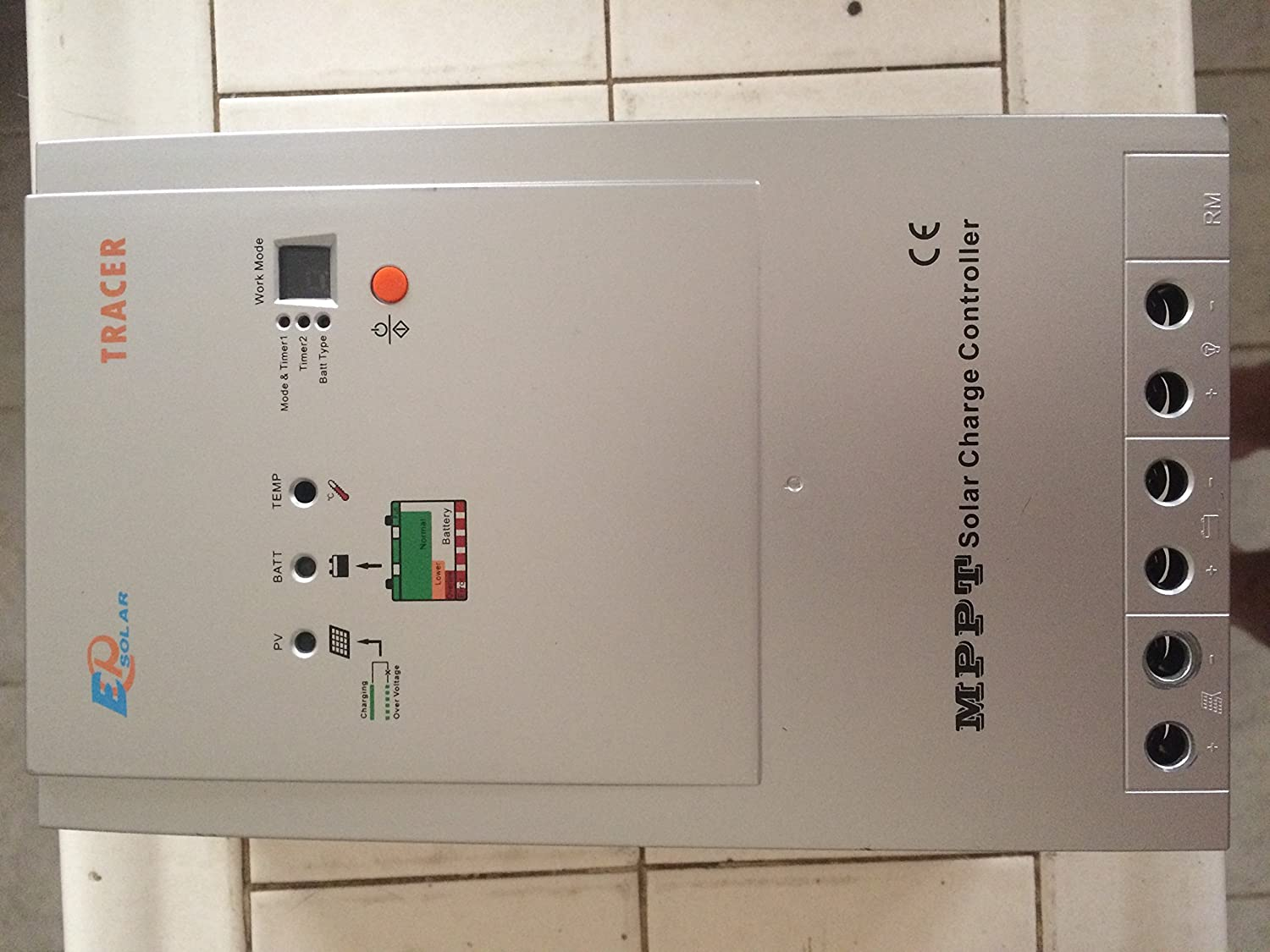 91Ba7JKVAlL._SL1500_ amazon com mppt tracer 3215rn solar charge controller 30a 12v  at gsmx.co