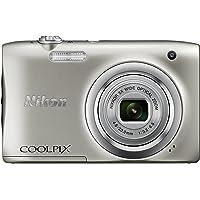 Nikon COOLPIX A100 Digital Camera Silver Australian Warranty, Silver (VNA970AA)