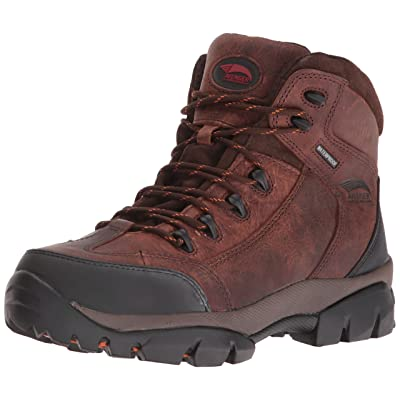 Amazon.com | Avenger Safety Footwear Men's 7644 Leather Waterproof Soft Toe No Metal Eh Hiker Industrial and Construction Shoe | Industrial & Construction Boots