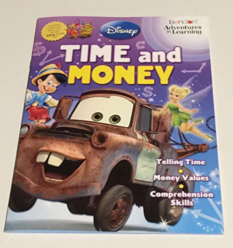 Time Worksheets 2nd grade telling time worksheets : Amazon.com: Disney Adventures in Learning Activity Book Set: Toys ...