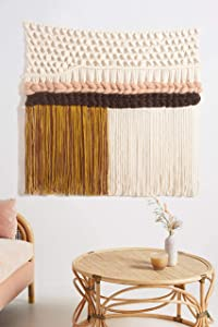 Macrame Wall Hanging Large Hand Woven Wall Art Home Décor 40''W*32''L