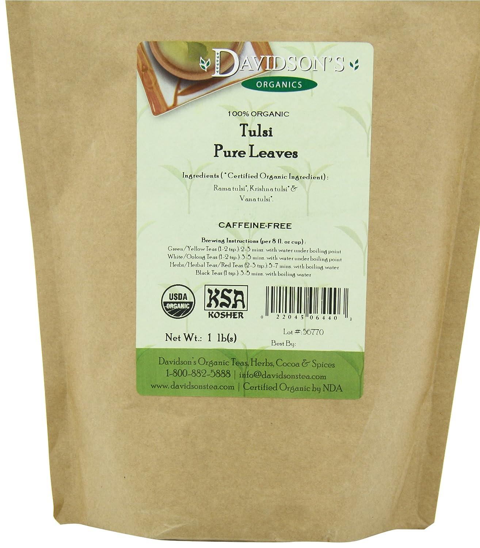Davidson's Tea Bulk, Tulsi Pure Leaves