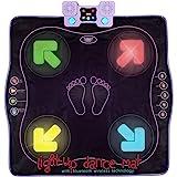Kidzlane Dance Mat – Dance Game for Kids Boys & Girls – Light Up Dance Pad with Built in or External AUX/Bluetooth Music…