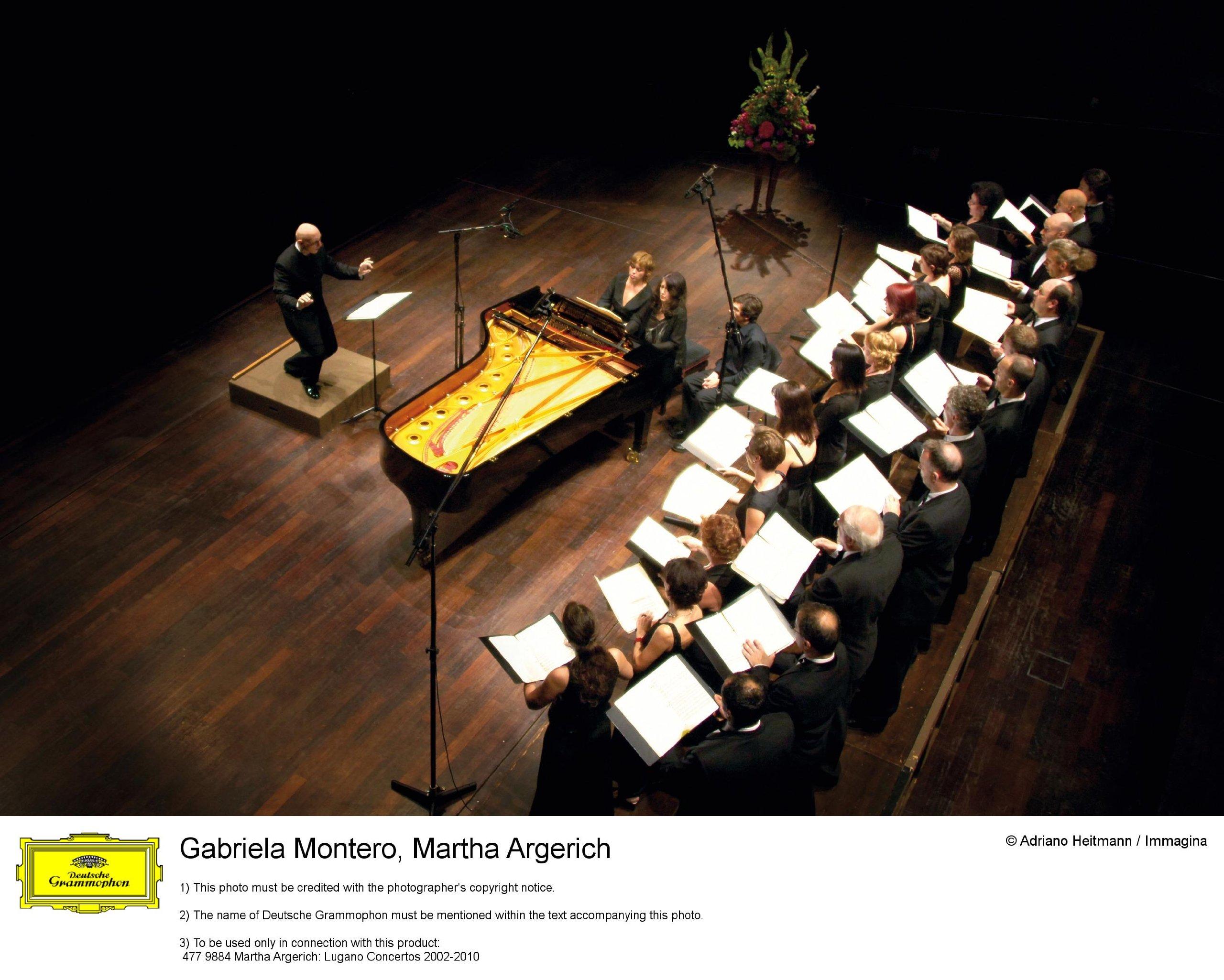 Martha Argerich: Lugano Concertos by DEUTSCHE GRAMMOPHON,BOX CLASSICA,VARI,LIVE RECORDING,