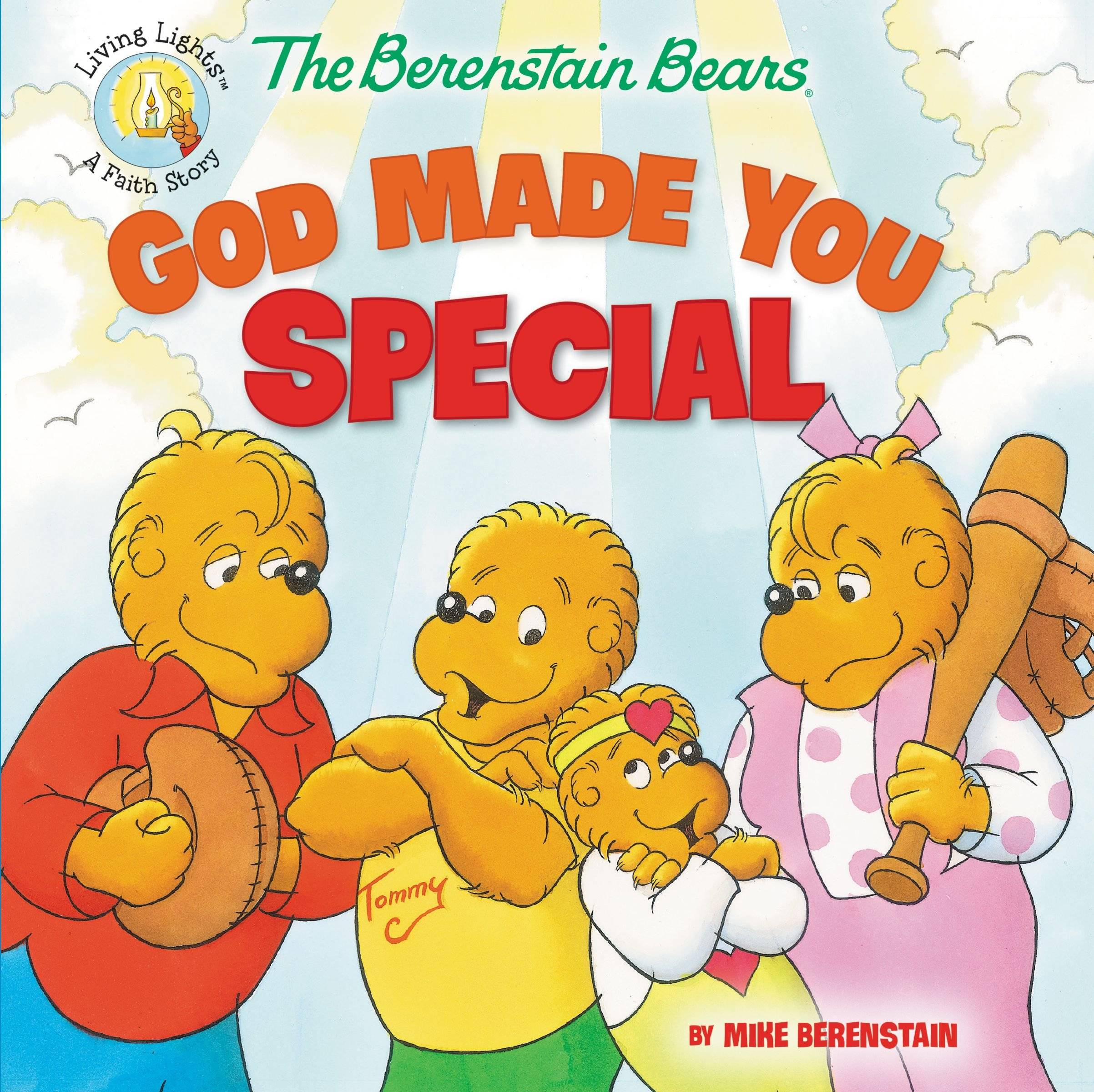 Amazon The Berenstain Bears God Made You Special Living Lights 9780310734833 Mike Books