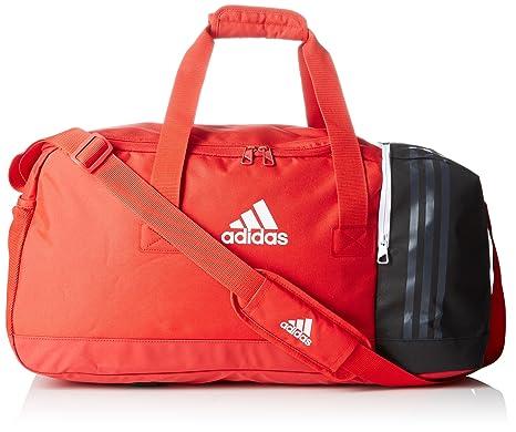 bfcb2eae11 adidas Tiro Teambag L Borsone, 70 cm, 81 liters, Rosso (Rot/schwarz ...