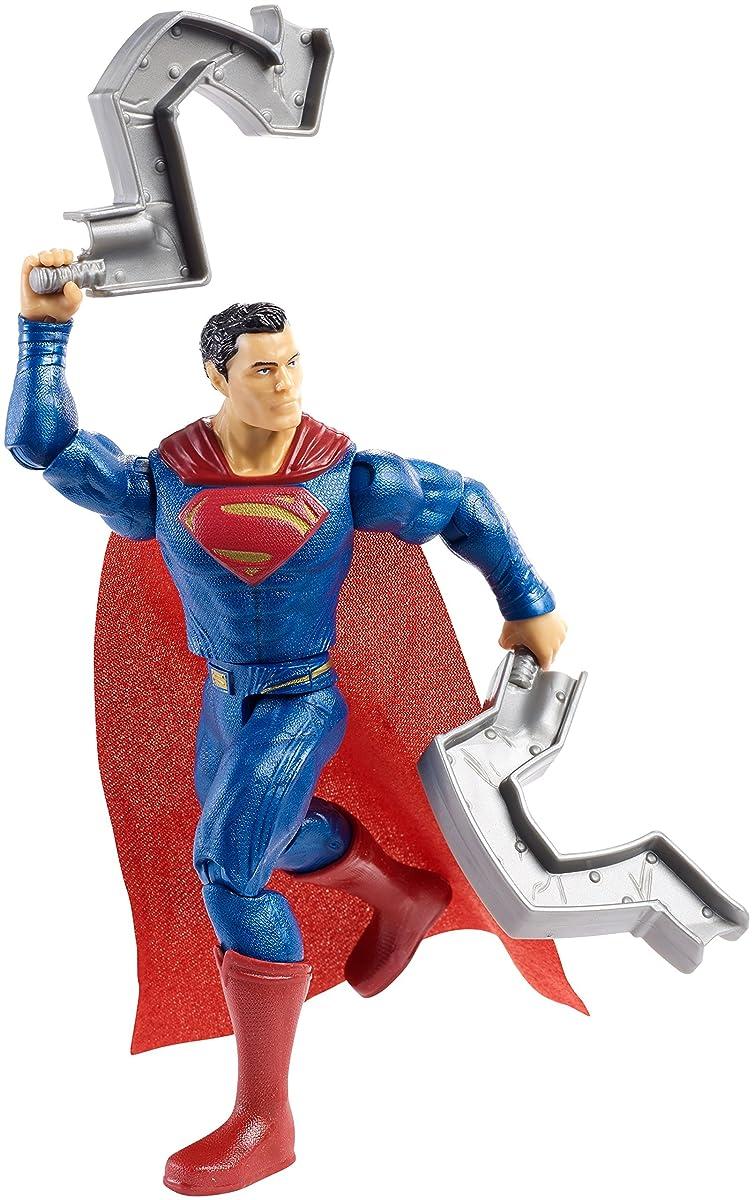 """DC Justice League Superman Figure, 6"""""""