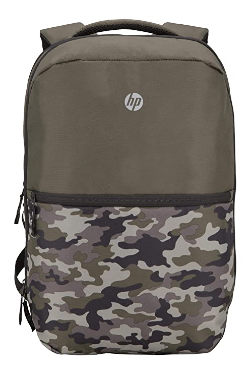 HP Titanium 15 inch Laptop Backpack  Green Camo  Laptop Backpacks