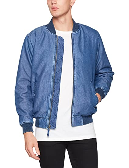 Levi's Men's Thermore Bomber Jacket, Blue (Bafang Red Cast 8), ...