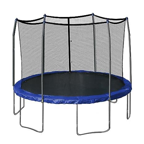 Skywalker Trampolines 12-Feet redondo cama elástica y caja con primavera Pad - SWTC1200, Azul: Amazon.es: Deportes y aire libre