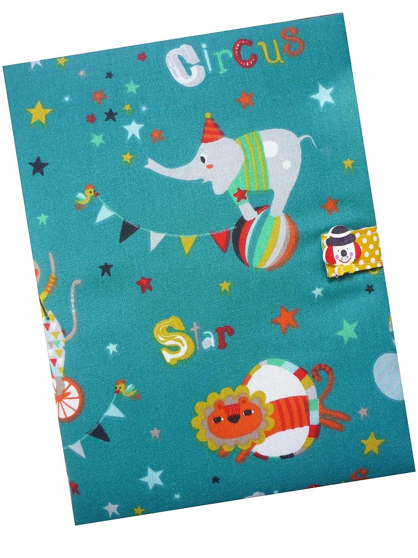 Cadeau de Naissance - Protège-Carnet de Santé - CIRQUE Sackcloth Sally