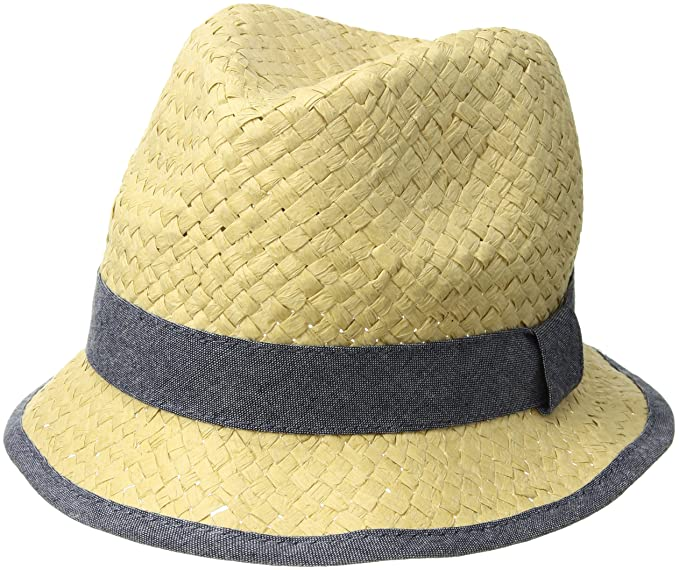 344f8ad943e Image Unavailable. Image not available for. Color  Mud Pie Baby Boys Straw  Fedora ...