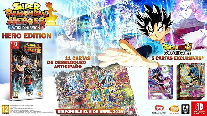Super Dragon Ball Heroes World Mission - Hero Edition ...