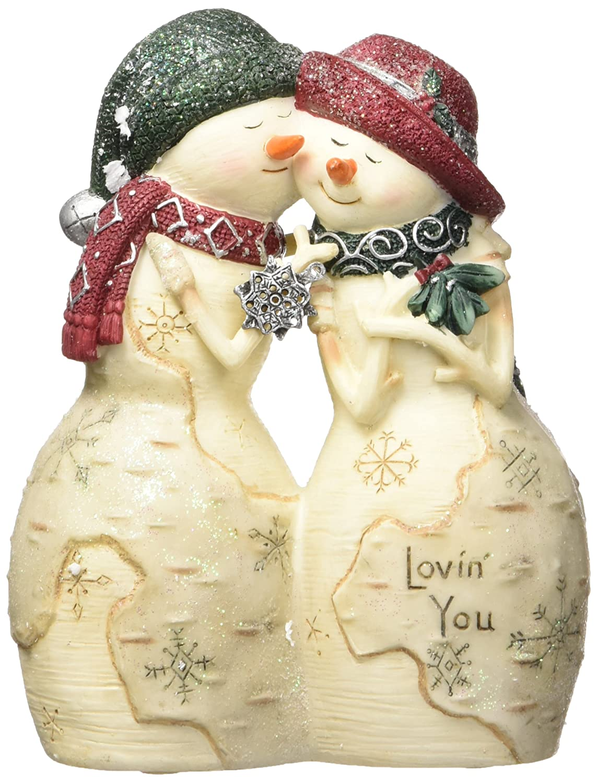Amazon.com: BirchHeart Snowman Couple, Reads \