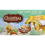 Celestial Seasonings Sugar Cookie Sleigh Ride Holiday Tea, 20 Tea Bags per Box