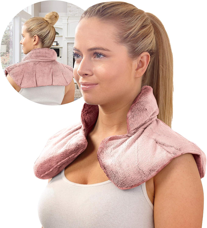 Sharper Image Neck and Shoulder Wrap Pillow (Pink)