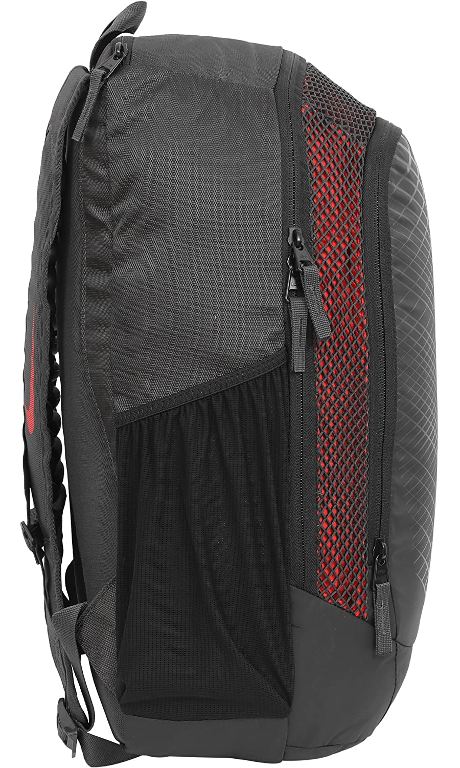 46872784484b Nike 25 Ltrs Anthracite Habanero Red Metallic Silver Laptop Backpack  (BA5474-060)  Amazon.in  Bags
