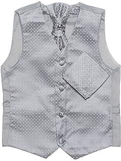 Paisley of London Cravat /& Hanky Set 14 Years Boys Navy Waistcoat 3m Page boy Waistcoats