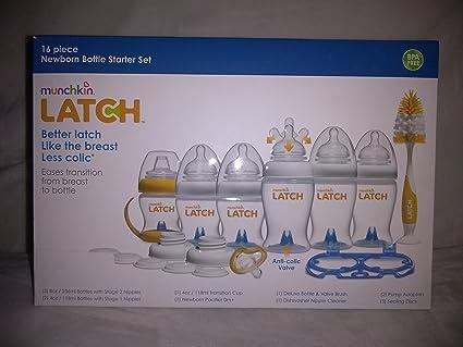 Amazon.com: Munchkin Latch - Juego de botellas para recién ...