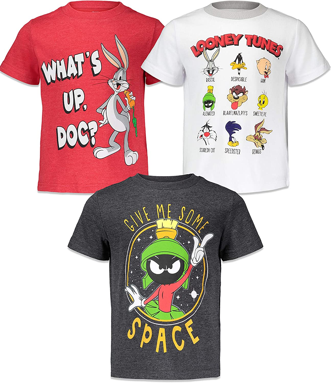 Warner Bros. Looney Tunes 3 Pack T-Shirts