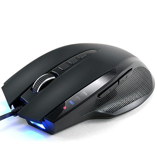 279 opinioni per CSL- Mouse USB 3500 dpi- SM800 ottico Gaming   velocità di rilevamento 3500 dpi
