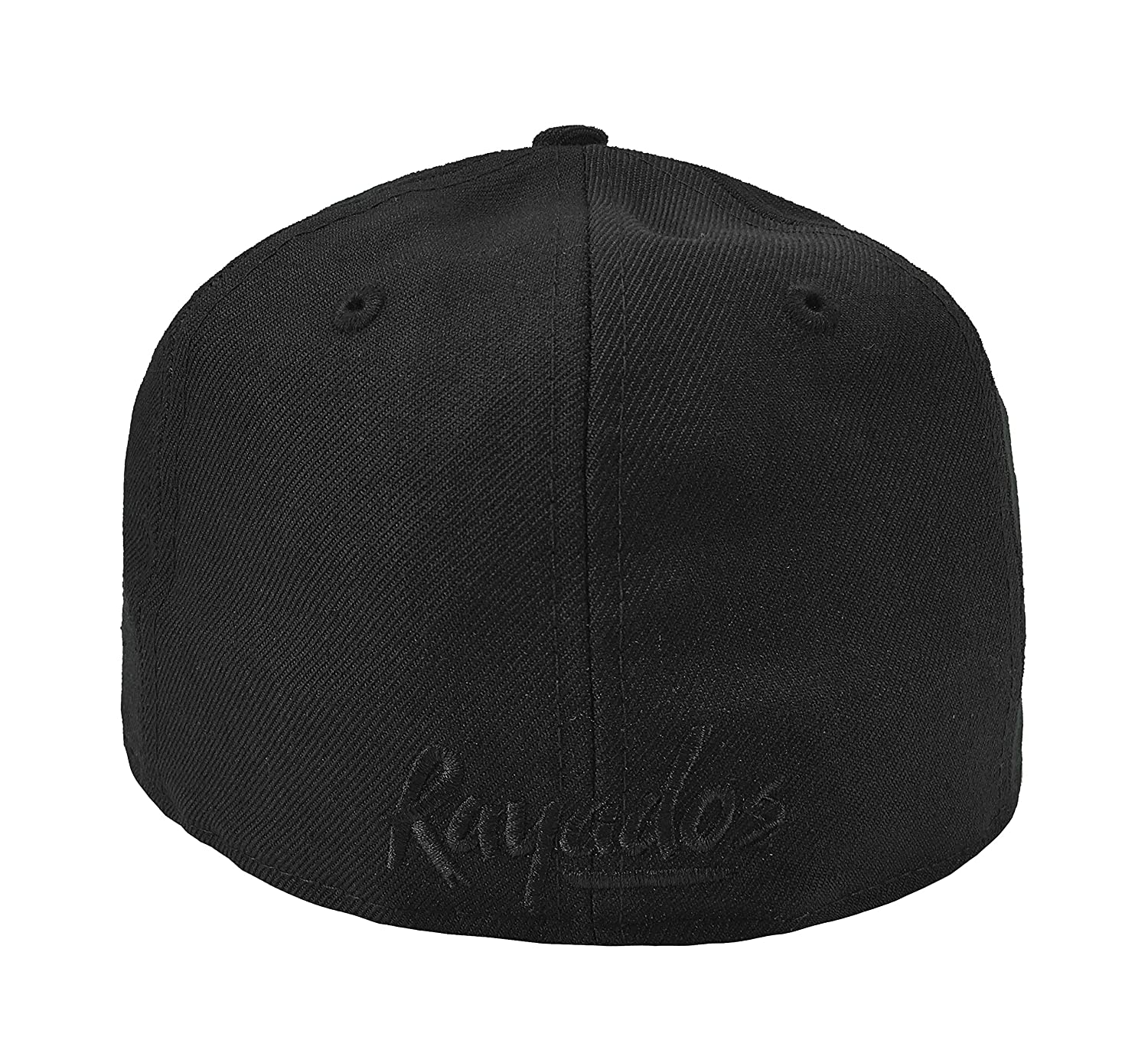 New Era 59Fifty Hat Rayados De Monterrey Liga Mexicana Black Fitted Cap at Amazon Mens Clothing store: