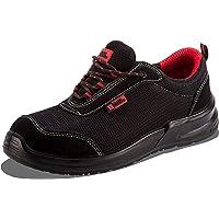 Zapatillas Deportivas de Seguridad para Hombres Puntera S1P SRC Calzado de Trabajo Botines para senderistas Protección…