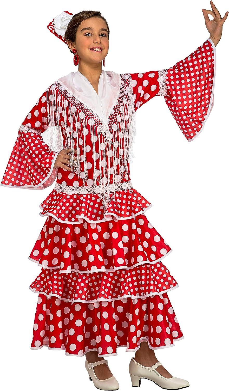 My Other Me Me-203845 Disfraz de flamenca Sevilla para niña, color ...