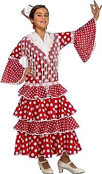 My Other Me Me-203845 Disfraz de flamenca Sevilla para niña ...