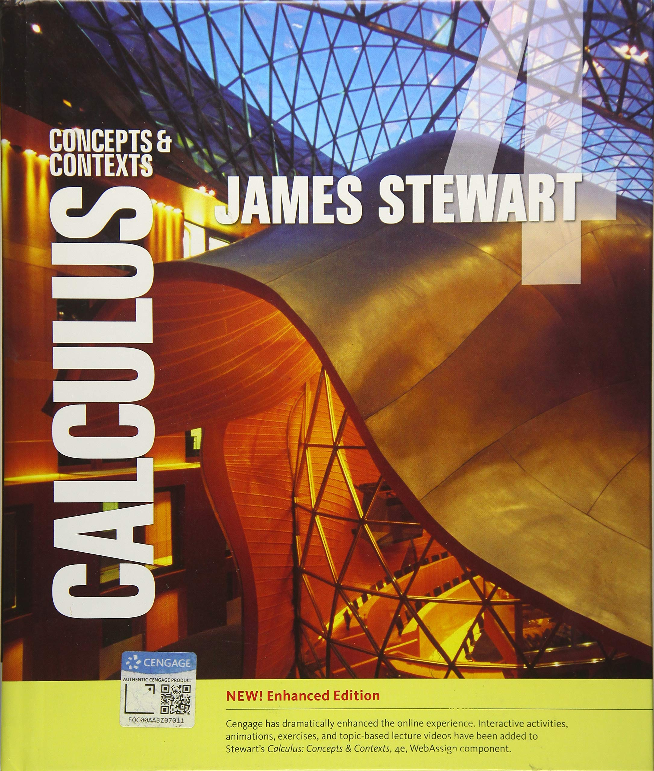 Calculus: Concepts and Contexts, Enhanced Edition: Amazon.co.uk: James  Stewart: 9781337687669: Books
