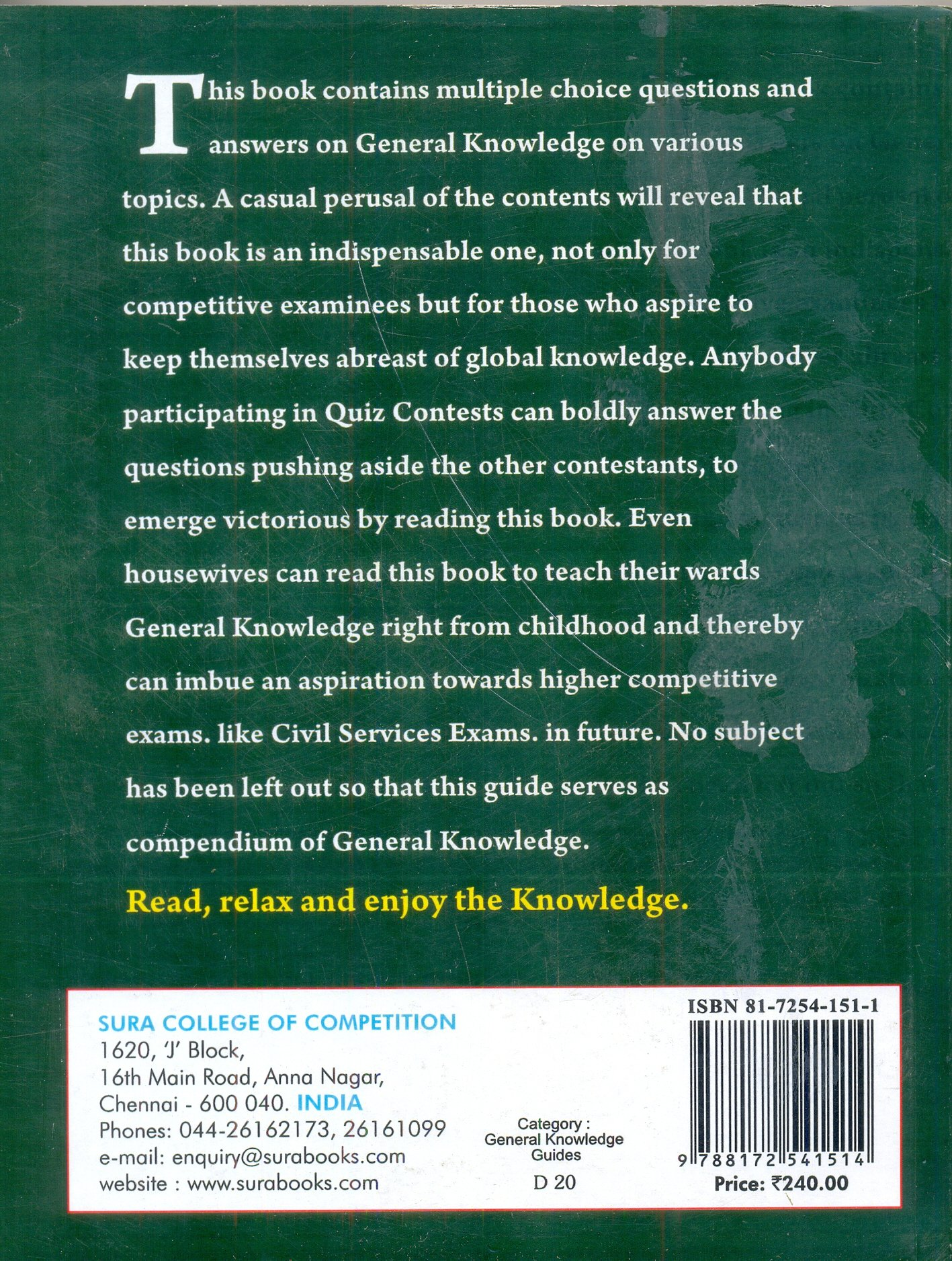 Buy Mega Objective General Knowledge Quiz Book Online at Low