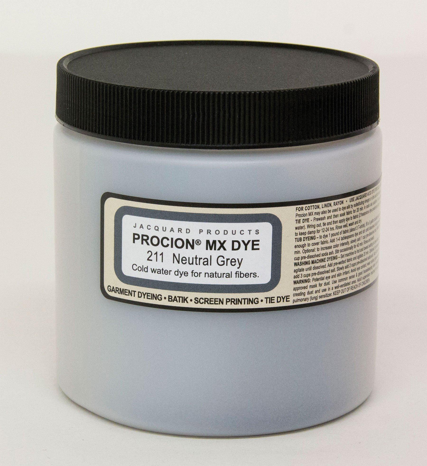 Procion Mx Dye Neutral Grey 8Oz by Jacquard