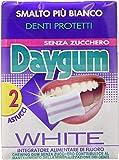 Daygum White, Gomme da Masticare - 4 confezioni da 2 astucci [8 astucci]