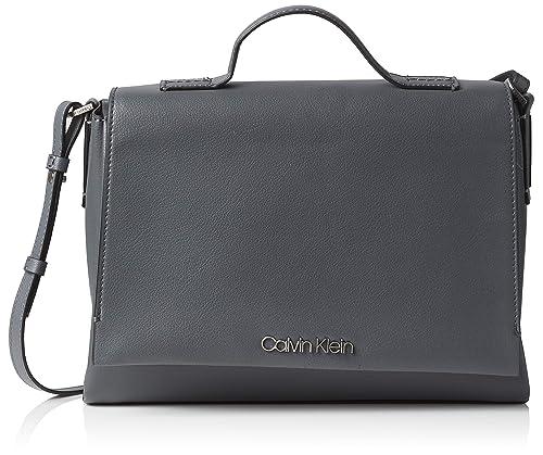 Calvin Klein Jeans - Frame Top Handle Satchel, Carteras de mano con asa Mujer,
