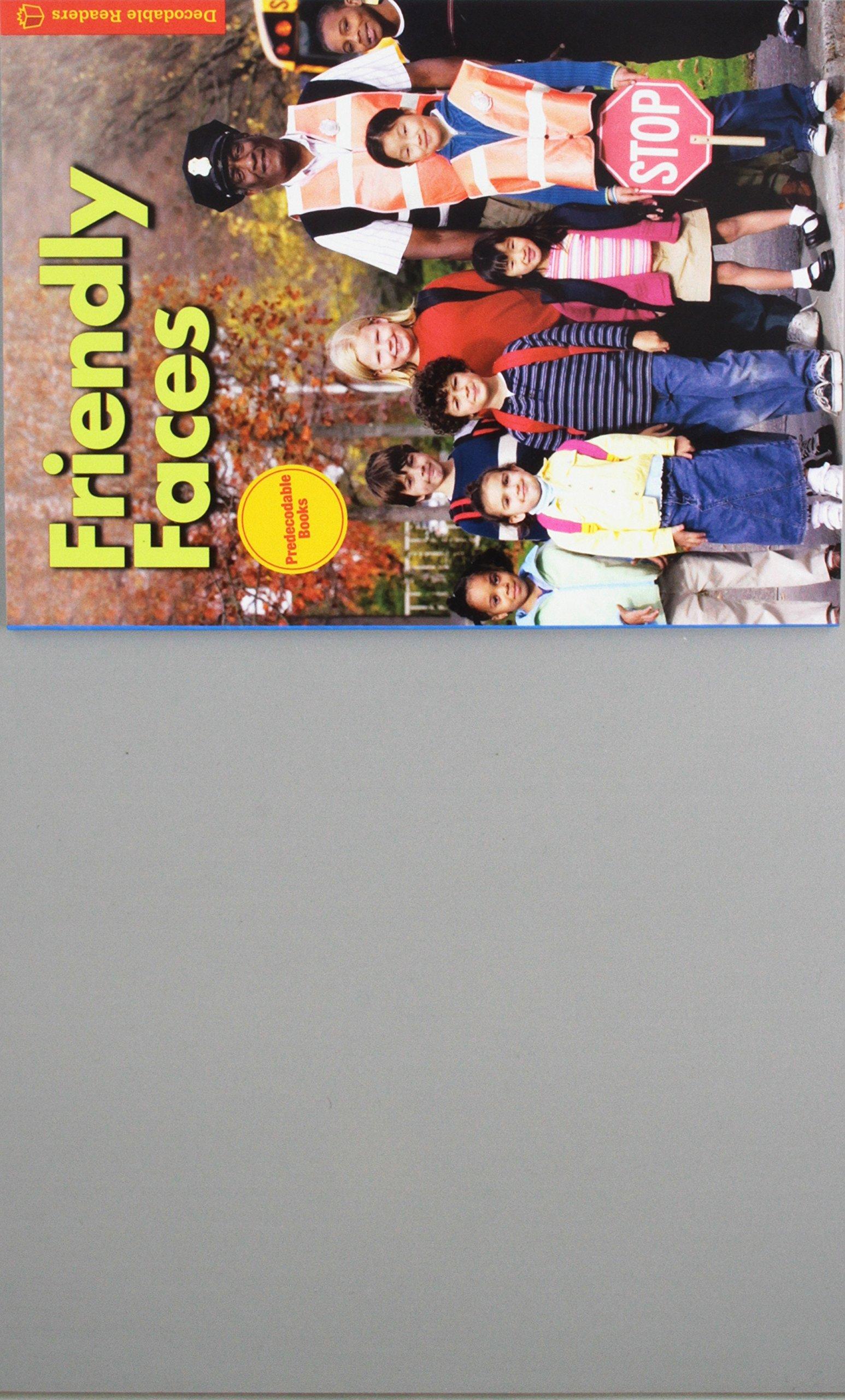 Read Online Friendly Faces: Decodable Reader, Level K, Unit 1 (Journeys) ebook