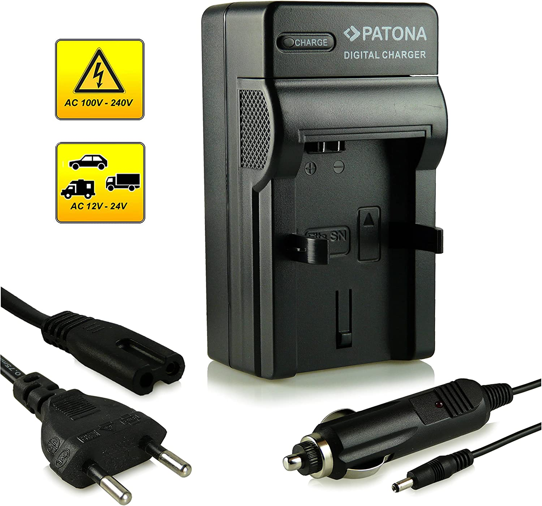 NEX.3 con Micro-USB PATONA Slim Chargeur pour batterie Sony NP-FW50 A55 8.4 V//500 mA NEX.5 Alpha 33