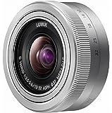 Panasonic 12-32mm f/3.5 - 5.6 G Vario - Objetivo para micro cuatro tercios (distancia focal 12-32mm, apertura f/3.5-22, estabilizador óptico, diámetro: 37mm) plateado