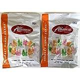 Albanese World's Best Gummi Bears Sherbet Flavors 7.5 Ounce Bag (Pack of 2)