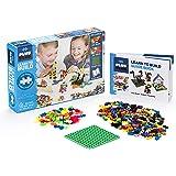 Plus-Plus - Learn to Build Basic Color Mix, 400 Piece - Construction Building STEM | STEAM Toy, Interlocking Mini Puzzle…