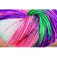 M.G Enterprise Cotton Yarn Tucan 002 (Wool Ball Hand Knitting Yarn/Art Craft Soft Fingering Crochet Yarn, Needle Knitting Yarn ,200 Gm)