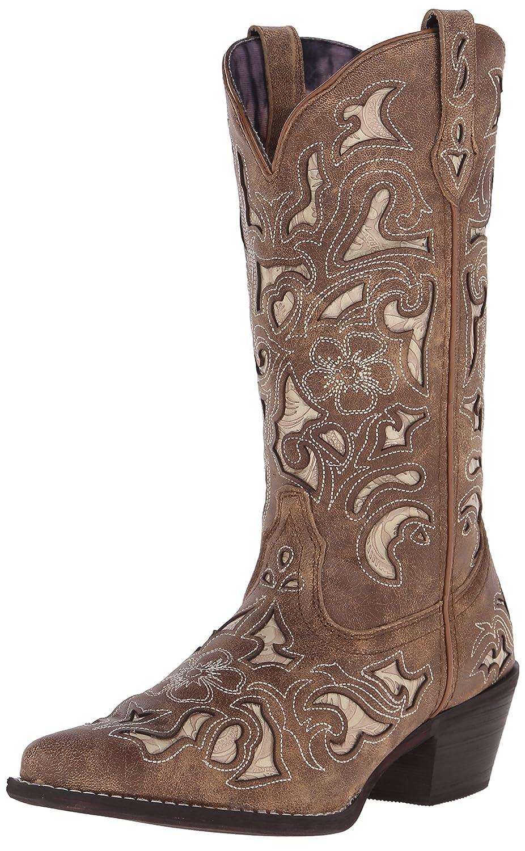 Laredo Women's Sharona Western Boot B00QMVMUL8 8.5 B(M) US|Tan