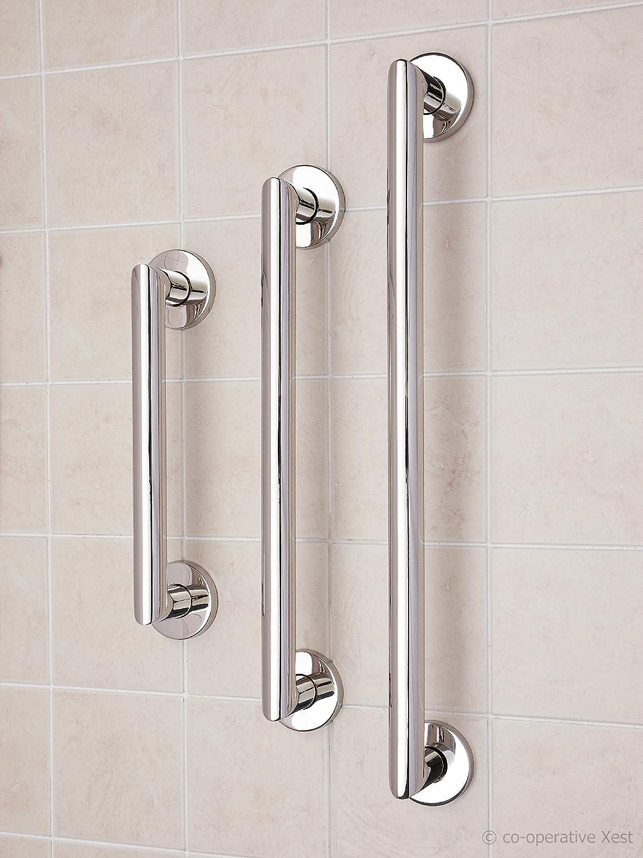 Kaizen Luxury Square Grab Bar Rail - Bathroom Support Stability ...