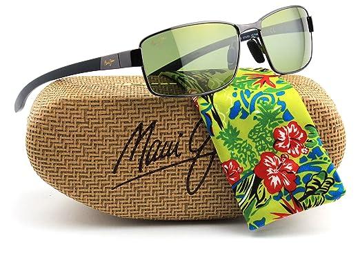 518e1fdc80 Amazon.com  Maui Jim KONA WINDS Polarized Metal Unisex Sunglasses ...