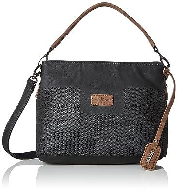 Rieker Blaze Damen Casual Dual Strap Handtasche