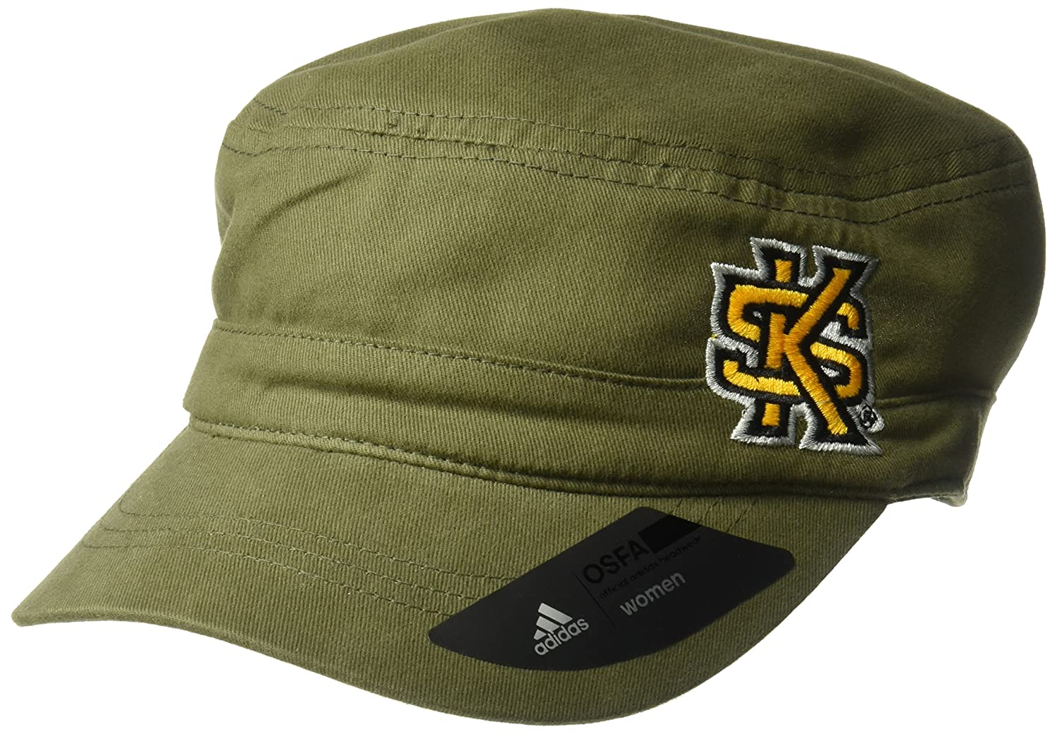 NCAA Kennesaw State Owls Adult Women Army Green Military Hat One Size Olive