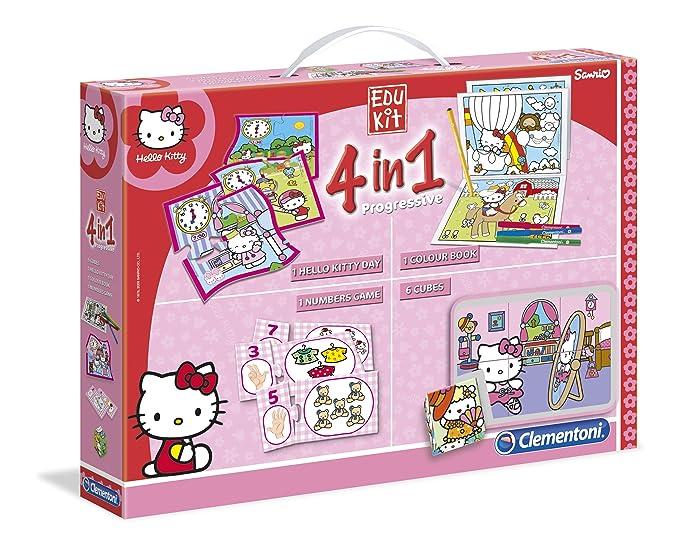 5 opinioni per Clementoni 13776- Edukit 4 in 1 Hello Kitty