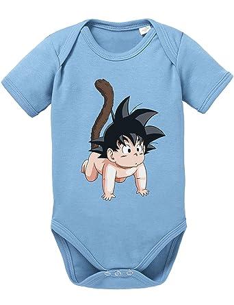 mehr Fotos e3337 33788 Son Goku Baby Strampler Body Dragon Master Son Ball Vegeta Turtle Roshi Db